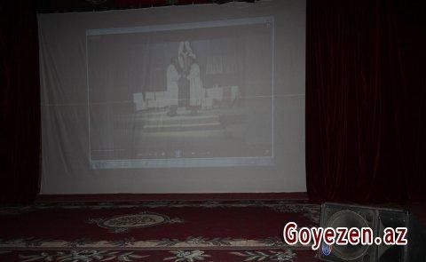 Rejissor və istedadlı aktyor Əhməd Əhmədovun xatirə gecəsi keçirilib - Qazaxda