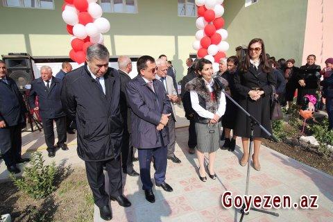 Xanlıqlar kəndində yeni bağça binası istifadəyə verilib