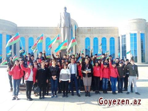 Lənkəran rayonu ilə tanışlıq məktəblilərdə zəngin təəssürat oyadıb