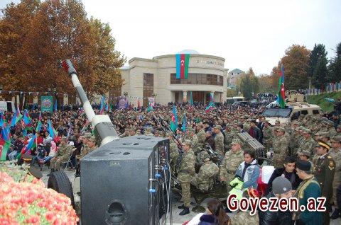 Xalqın dayaq durduğu qüdrətli ordumuz var