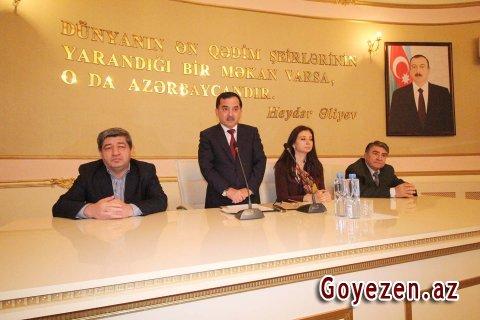 Qazaxda Osman Sarıvəlli poeziya bayramı