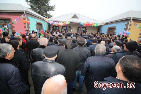 Daş Salahlı kənd 2 və 3 saylı körpələr evi-uşaq bağçalarının açılışı olub