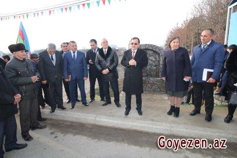 Qazaxbəyli və Orta Salahlı kəndlərinə içməli su çəkilib -