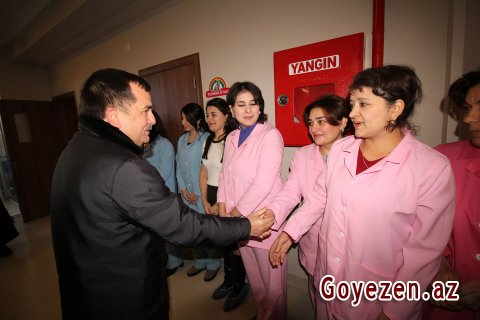 Qazax şəhərində 100 yerlik 1 saylı körpələr evi-uşaq bağçası istifadəyə verilib