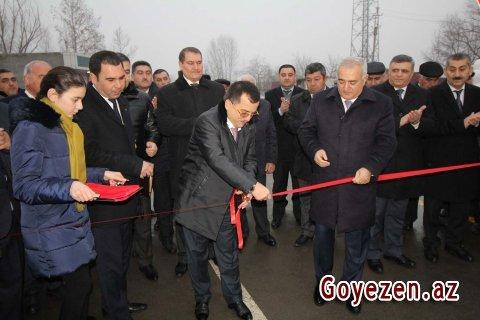 Qazaxın kəndləri: yeni asfalt yolların təntənəli açılışı