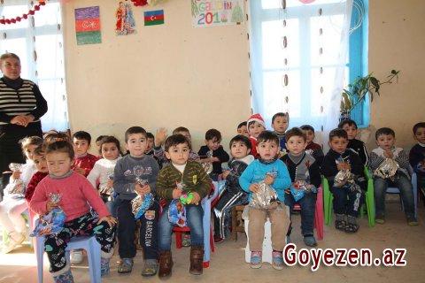 Qazaxın uşaq bağçalarında bayram şənlikləri keçirilib