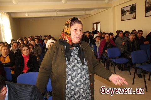Aşağı Əskipara kənd İƏD üzrə nümayəndəliyin hesabat yığıncağı keçirilib -