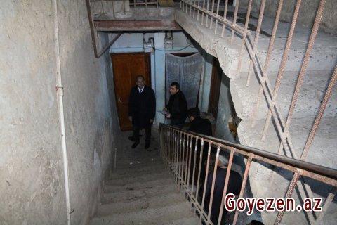 Qazax şəhərində çoxmənzilli binalarda və həyət evlərində təmir işləri davam etdirilir