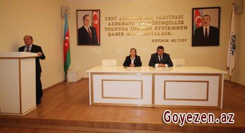 YAP Qazax rayon təşkilatında 20 Yanvar faciəsinin 28-ci ildönümü qeyd olunub