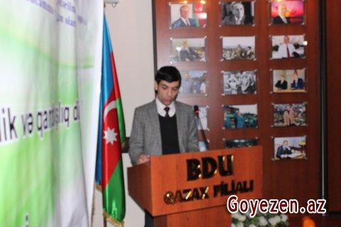 BDU-nun Qazax filialında maarifləndirici tədbir keçirilib