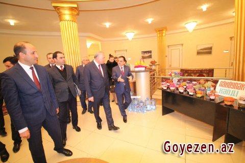 Qazax rayonu hesabat verib