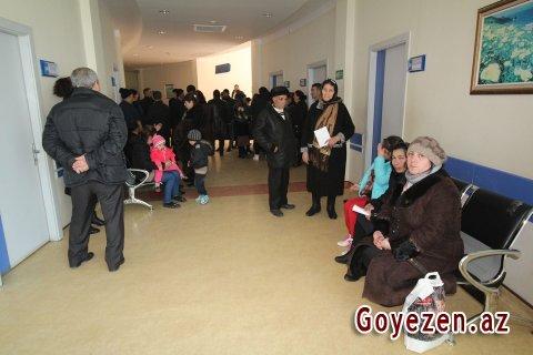 Qazaxda əhalinin tibbi müayinəsinə başlanılıb