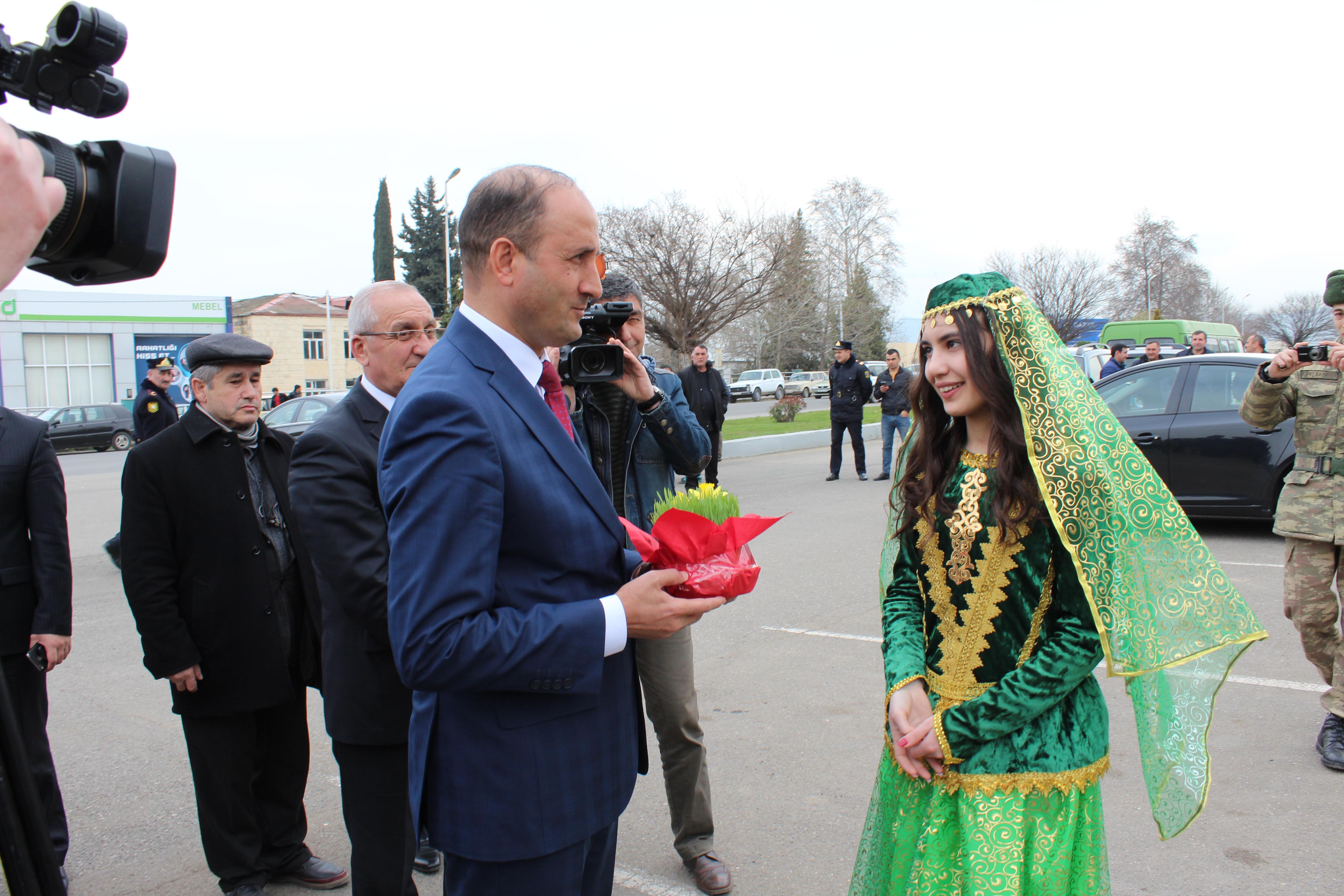 Qazax rayonunda Novruz bayramı təntənəli şəkildə qeyd olunub