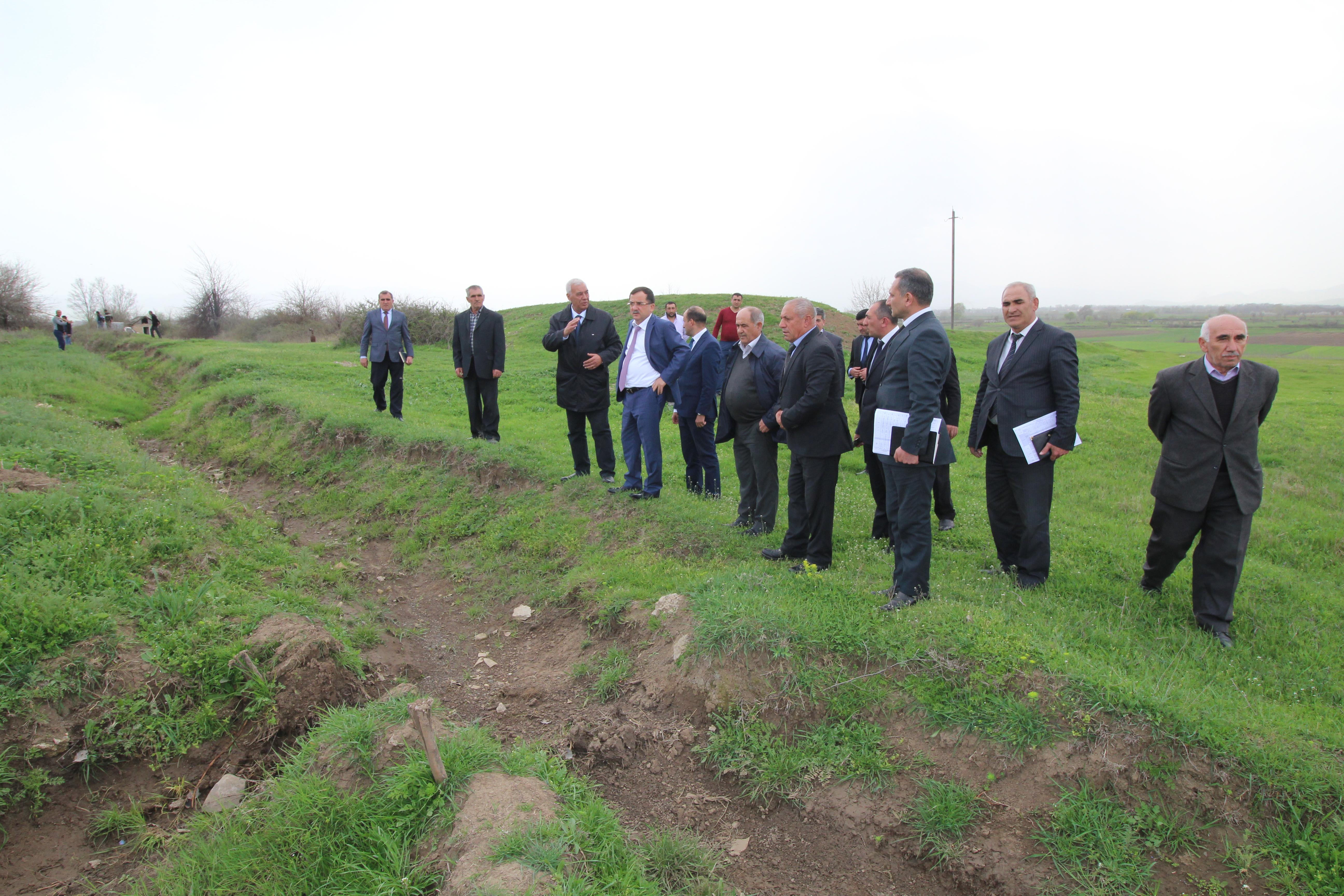 Qazaxda 262,84 km uzunluğunda suvarma kanalları və arxları təmizlənib