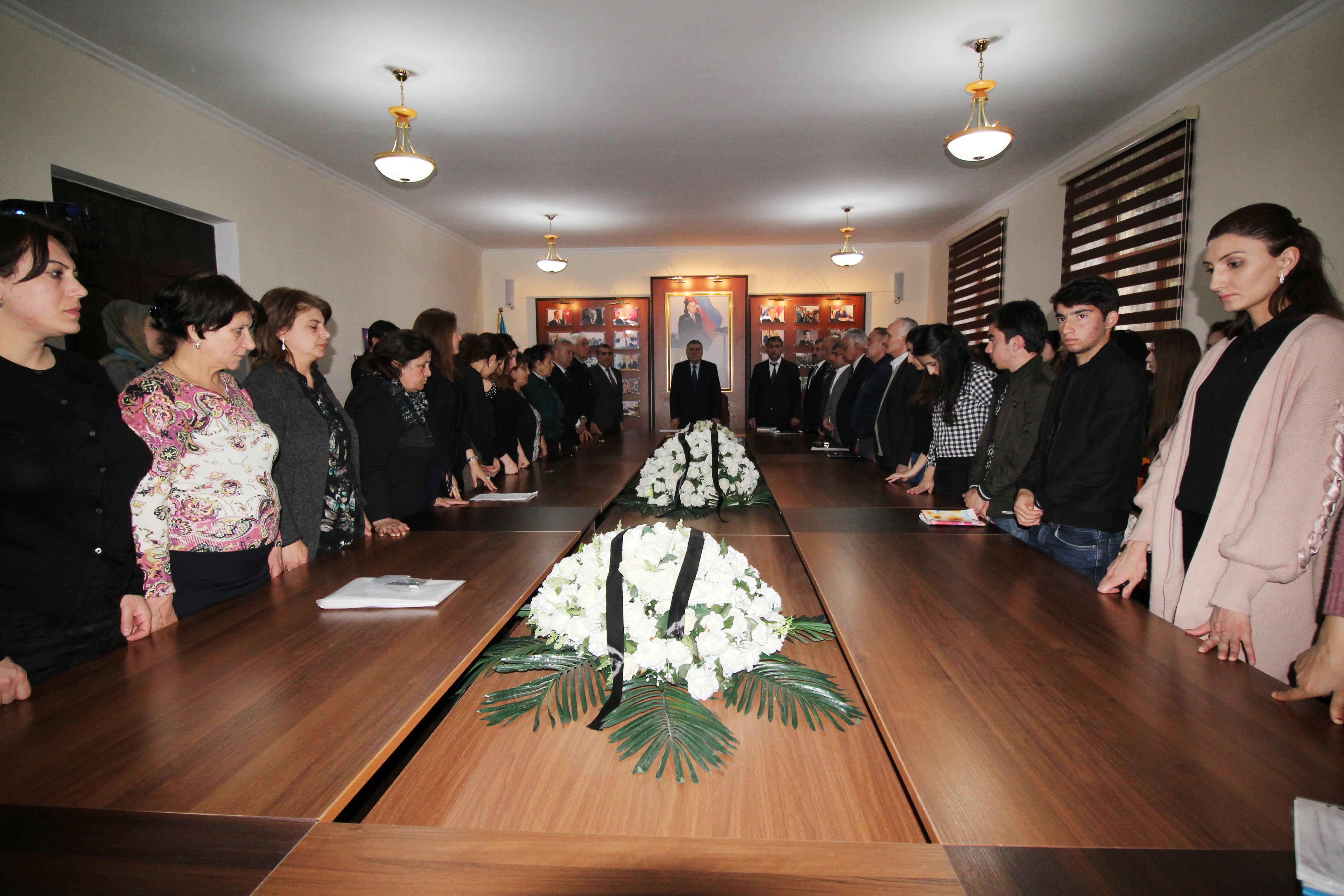 BDU-nun Qazax filialında Azərbaycanlıların Soyqırımı Günü ilə bağlı tədbir keçirilib