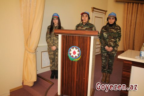 31 Mart - Azərbaycanlıların soyqırımının 100 illiyi ilə bağlı Qazaxda anım mərasimi keçirilib