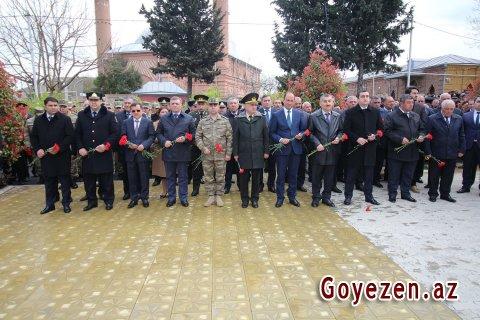 Qazaxda 1918-ci il azərbaycanlıların soyqırımı qurbanlarının anım mərasimi keçirilmişdir