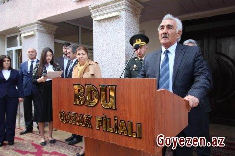 BDU-nun Qazax filialında Aprel döyüşlərinin ildönümünə həsr olunmuş toplantı keçirilib