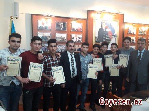 BDU-nun Qazax filialında ulu öndər Heydər Əliyevin ildönümünə həsr olunmuş idman yarışları keçirilib