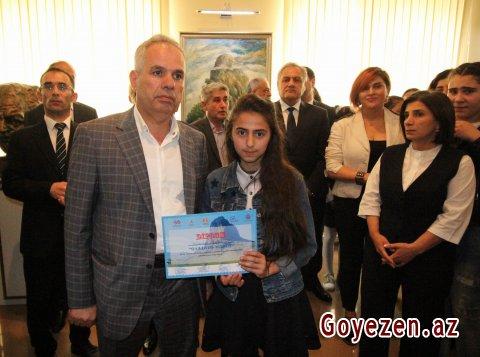 """""""Qazağım mənim"""" adlı rəsm sərgisi keçirilib"""