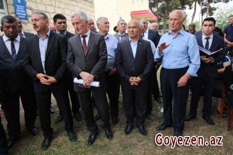 Birinci Şıxlı kənd sakinləri ilə səyyar görüş keçirilib