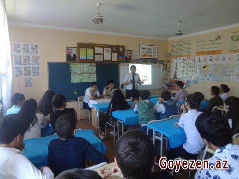 Qazaxda FHN-in Gəncə Regional Mərkəzi maarifləndirmə tədbiri keçirib