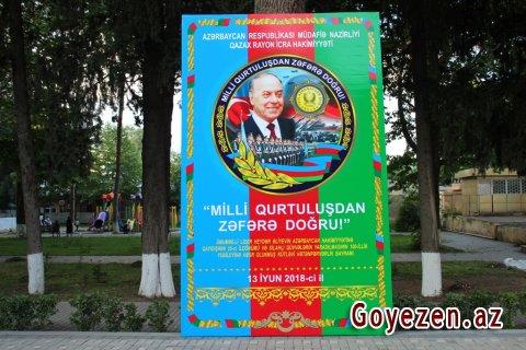 """Qazaxda """"Milli Qurtuluşdan Zəfərə doğru"""" devizi altında möhtəşəm bayram tədbiri keçiriləcəkdir"""