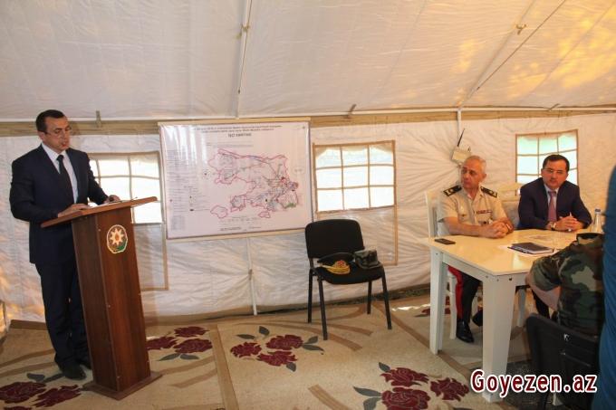 Qazaxda keçirilən kompleks mülki müdafiə təlimi yüksək səviyyədə yerinə yetirilib