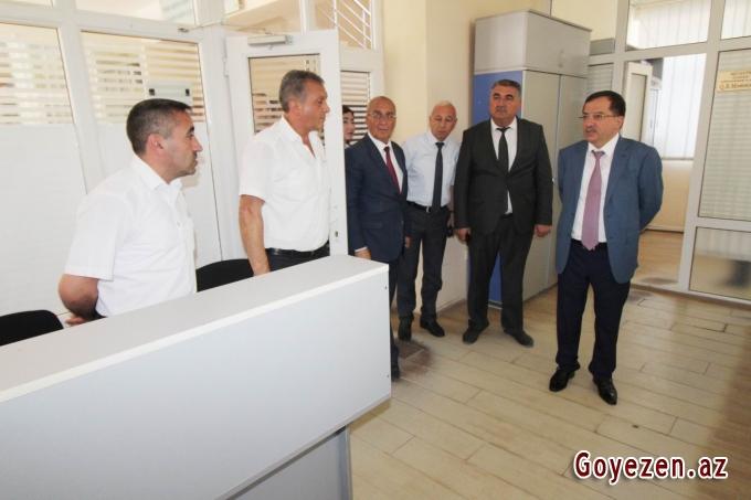 İcra Başçısı vətəndaşlara göstərilən xidmətlərlə maraqlanıb -