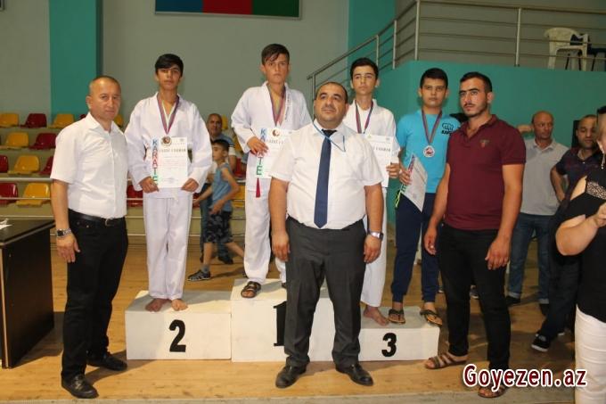 Şotakan Karate-do idman növü üzrə açıq rayon turniri keçirilib