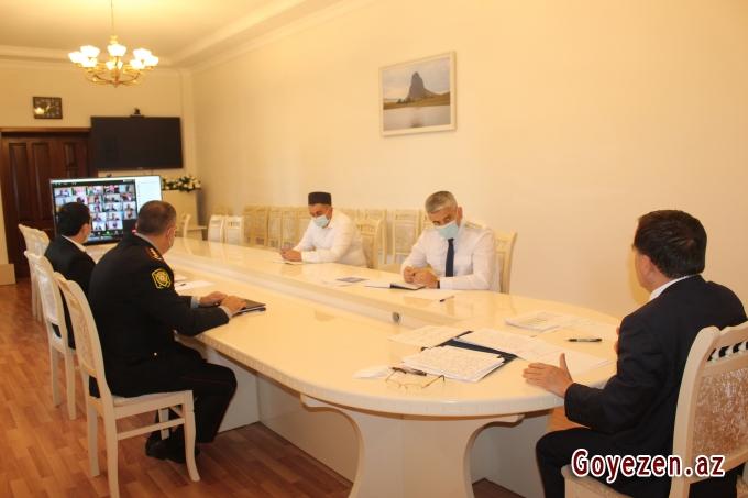 Qazax RİH başçısının İƏD üzrə nümayəndələrinin iştirakı ilə videokonfrans keçirilib