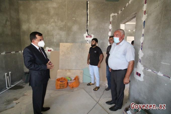 Şəhid mayor Namiq Əhmədovun evi özünün arzuladığı kimi təmir olunur